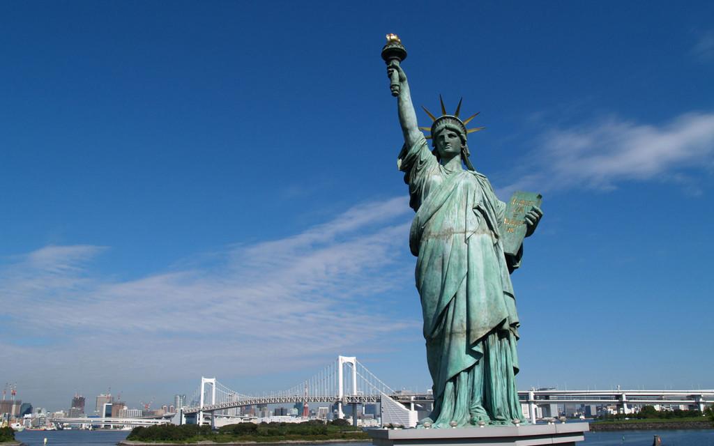 статуя свободы картинка 94